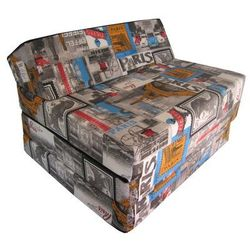 Fotel materac składany 200x70x10 cm - PARIS