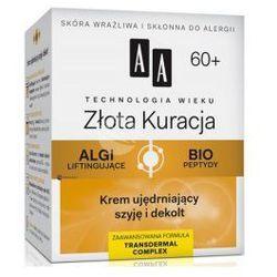 AA Technologia Wieku 60+ Złota Kuracja (W) krem ujędrniający szyję i dekolt 50ml