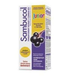 SAMBUCOL JUNIOR syrop 120ml