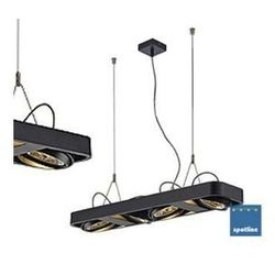 LAMPA wisząca AIXLIGHT R2 LONG 111 159080 Spotline aluminiowa OPRAWA LISTWA czarny