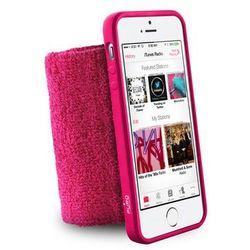 Etui PURO Frotka do biegania z etui iPhone 5/5S Różowy