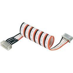 Przedłużenie kabla czujnikowego LiPo XH Modelcraft, 300 mm, 6-biegunowy