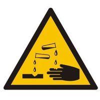 Ostrzeżenie przed substancjami żrącymi