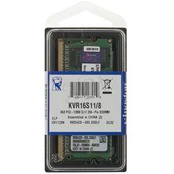 KINGSTON SODIMM DDR3 1600MHz KVR16S11/8G- wysyłka dziś do godz.18:30. wysyłamy jak na wczoraj!