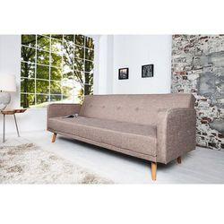 Sofa rozkładana Scandi 200cm beżowa - wzór 1