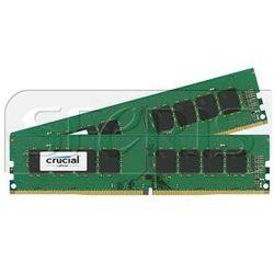 Pamięć RAM Crucial 2x8GB DDR4-2400 UDIMM, NON-ECC, CL17, - CT2K8G4DFS824A