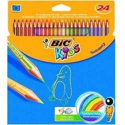 Kredki ołówkowe Bic Kids Tropicolors2 832568 24kol.