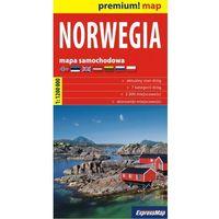 Norwegia 1:1 200 000 Mapa Samochodowa (opr. kartonowa)