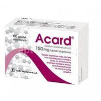 Acard 150 mg x 60 tabl dojelitowych