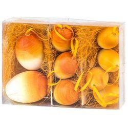 Jajka wielkanocne 9 szt., pomarańczowy, HTH