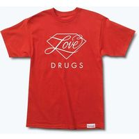 koszulka DIAMOND - True Love Tee Red (RED)