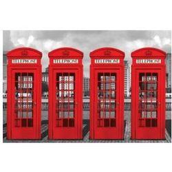 London Budki telefoniczne - plakat