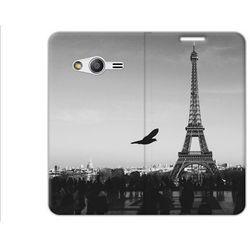 Flex Book Fantastic - Samsung Galaxy Trend 2 Lite - pokrowiec na telefon - wieża Eiffla