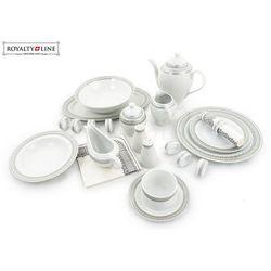 Porcelanowa zastawa stołowa - RL-DWS68 SILVER#2
