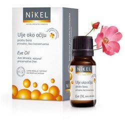 Olejek z kwiatów Dzikiej Róży i Passiflora pod oczy niwelujący zmarszczki, rozjaśniający cienie - 100% naturalny - 10ml - NiKEL