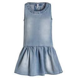 Name it NITSABAELGA Sukienka jeansowa light blue denim