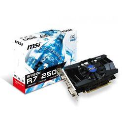 MSI Radeon R7 250OCV1 2GB DDR3 128BIT DVI/HDMI/Dsub