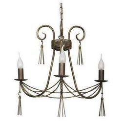 Żyrandol LAMPA wisząca TWIST 2764 Nowodvorski świecznikowy ZWIS metalowy maria teresa patyna