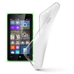 Etui CELLULAR LINE Shape Nokia Lumia 435 Przezroczysty