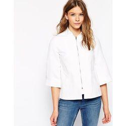 Cooper & Stollbrand Linen Coat - White