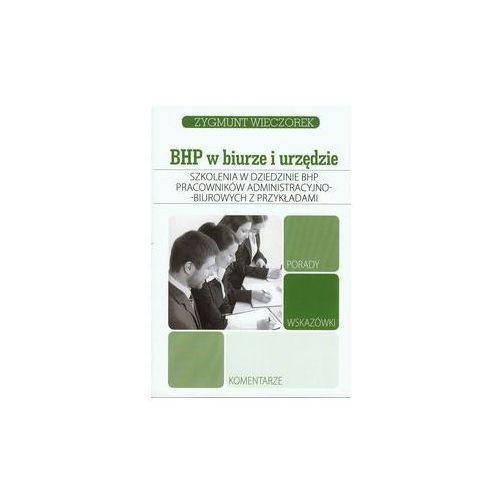 Szkolenia w dziedzinie BHP pracowników administracyjno-biurowych z przykładami