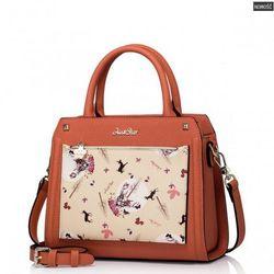 Dziewczęca torebka listonoszka Pomarańczowa