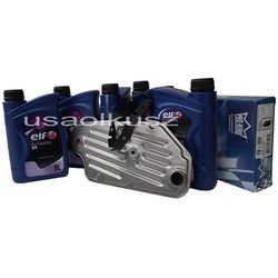 Mineralny olej ATF III oraz filtr automatycznej skrzyni biegów A4LD Ford Bronco II FT1087A