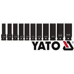 YATO Zestaw nasadek udarowych długich 1/2 cala 11szt. YT-1054