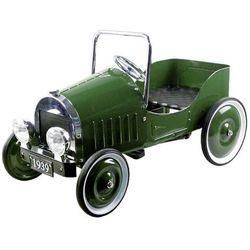 Jeździk dla dzieci - samochód na pedały. Retro zielony 1939