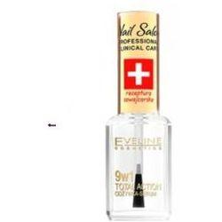 Eveline Nail Salon 9w1 Total Effect (W) skoncentrowana odżywka serum do paznokci 12ml