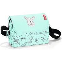 Torba na ramię everydaybag kids cats and dogs mint - Miętowy