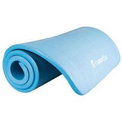 Mata do ćwiczeń Fity niebieska - Insportline - niebieski mata (-11%)