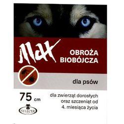 Selecta HTC Obroża Max Ger. biobójcza dla psa przeciw pchłom i kleszczom 75cm [SE-0902]