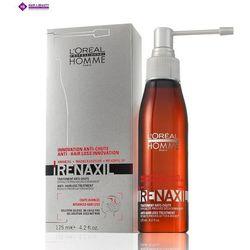 LOREAL Homme Renaxil Preparat Przeciwko Wypadaniu Włosów wypadanie zaawansowane CZERWONY 125 ml
