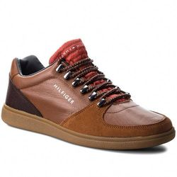 4f599b7ffd7e3 Sneakersy TOMMY HILFIGER - Core Hiking Inspired FM0FM01833 Cognac 606
