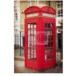Plakat Angielski budce telefonicznej