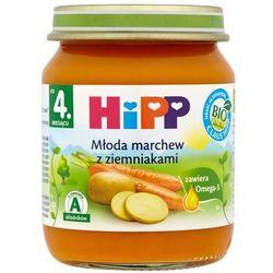 HIPP 125g Młoda marchew z ziemniakami po 4 miesiącu