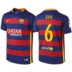 Koszulka Nike FC Barcelona Home junior Xavi