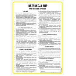 Instrukcja BHP przy obsłudze suwnicy