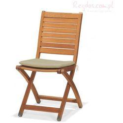 Krzesło składane z poduszką Catalina