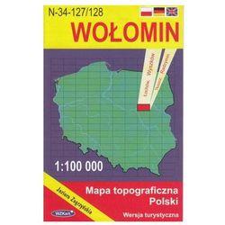 WZKart: WOŁOMIN 1:100 000 mapa topograficzna Polski wydanie turystyczne (opr. miękka)