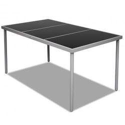 Stół jadalniany (150 x 90 x 74 cm) ze szklanym blatem na zewnątrz Zapisz się do naszego Newslettera i odbierz voucher 20 PLN na zakupy w VidaXL!