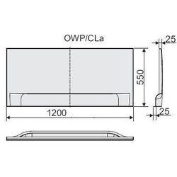 SANPLAST Obudowa do wanny OWPLL/ER 120x70cm 620-040-0120-01-000 lewa