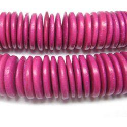 Palma kokosowa różowa dyski 20mm