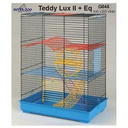 Inter-Zoo klatka dla chomika Teddy Lux II z wyposażeniem