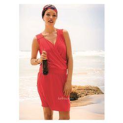 sukienka plażowa 8123 / 539 Berry gorące chili