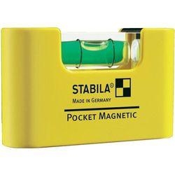 Poziomica kieszkonkowa magnetyczna Pro Magnetic