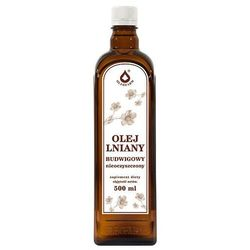 LenVitol, olej lniany tłoczony na zimno, 500 ml