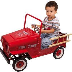 Jeździk na pedały dla dzieci - Wóz Strażacki