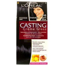 Loreal Paris Casting Creme Gloss Farba do włosów bez amoniaku Granatowa Czerń nr 210